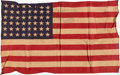 Military & Patriotic:WWII, General George S. Patton Vehicle Flag. . ...