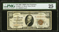 Small Size:Federal Reserve Bank Notes, Fr. 1860-L* $10 1929 Federal Reserve Bank Note. PMG Very Fine 25.. ...