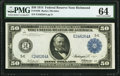 Large Size:Federal Reserve Notes, Fr. 1040 $50 1914 Federal Reserve Note PMG Choice Uncirculated 64.. ...