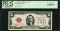 Small Size:Legal Tender Notes, Fr. 1505* $2 1928D Legal Tender Note. PCGS Very Choice New 64PPQ.. ...