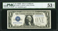 Small Size:Silver Certificates, Fr. 1604* $1 1928D Silver Certificate. PMG About Uncirculated 53 EPQ.. ...