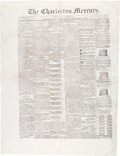 Miscellaneous:Newspaper, [Final Issue Before Union Invasion]. Newspaper: The Charleston Mercury. . ...