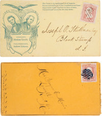 Abraham Lincoln: Pair Of Covers