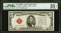 Small Size:Legal Tender Notes, Fr. 1529* $5 1928D Legal Tender Note. PMG Choice Very Fine 35 EPQ.. ...