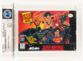 Video Games:Nintendo, Justice League Task Force Wata 9.4 A+ Sealed SNES, Acclaim, 1995, USA....