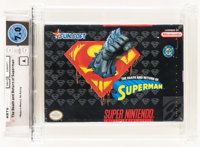 The Death and Return of Superman Wata 7.0 A Sealed SNES, Sunsoft, 1994, USA