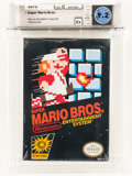 Video Games:Nintendo, Super Mario Bros. [Last Release] Wata 9.2 C+ Sealed, NES, Nintendo, 1985, USA....