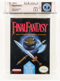Video Games:Nintendo, Final Fantasy Wata 9.8 A Sealed NES, Nintendo, 1990, USA....