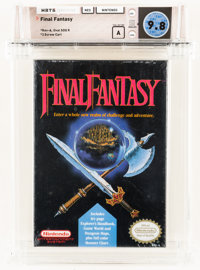 Final Fantasy Wata 9.8 A Sealed NES, Nintendo, 1990, USA