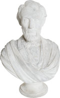 Antiques:Decorative Americana, Abraham Lincoln: Most Unusual Plaster Bust.. ...