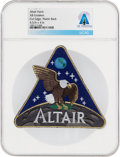 Explorers:Space Exploration, Patches: NASA Altair AB Emblem Lunar Surface Access Module (LSAM) Patch, Directly From The Armstrong Family Collection™, C...
