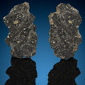 Explorers:Space Exploration, NWA 11788 Lunar Meteorite Sliced Pair. Lunar (feldspathic breccia) Mali, Northwest Africa. Found: 2017. ... (Total: 2 Items)