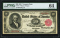 Fr. 375 $20 1891 Treasury Note PMG Choice Uncirculated 64