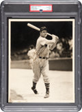 Autographs:Bats, Circa 1939 Jimmie Foxx Signed Photograph by George Burke, PSA/DNA Type 1....