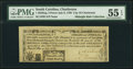 South Carolina- City of Charleston July 6, 1789 1s3d Remainder PMG About Uncirculated 55 EPQ