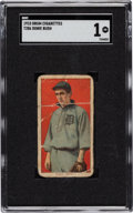 Baseball Cards:Singles (Pre-1930), 1909-11 T206 Drum Donie Bush SGC Poor 1 - The Only SGC & PSA Graded Example! ...