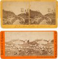 Photography:Stereo Cards, Battle of Gettysburg: Pair of Stereo Views.. ... (Total: 2 Items)