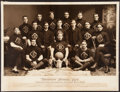 Football Collectibles:Photos, 1903 Broadview Football Club Oversized Photograph....