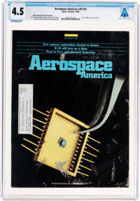 Magazines: Aerospace America Dated October 1990, Directly From The Armstrong Family Collection™, CAG Certified and