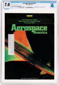 Explorers:Space Exploration, Magazines: Aerospace America Dated August 1991, Directly From The Armstrong Family Collection™, CAG Certified and ...