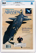 Explorers:Space Exploration, Magazines: Air & Space Dated June/July 1993, Directly From The Armstrong Family Collection™, CAG Certified and Gra...