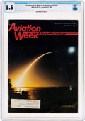 Explorers:Space Exploration, Magazines: Aviation Week & Space Technology Dated December 23, 1985, Directly From The Armstrong Family Collection...