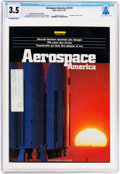 Explorers:Space Exploration, Magazines: Aerospace America Dated March 1991, Directly From The Armstrong Family Collection™, CAG Certified and G...