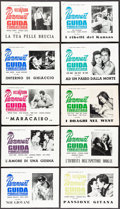"""Movie Posters:Miscellaneous, Paramount Italian Lot (Paramount,1957-1964 ). Fine/Very Fine. Uncut Italian Pressbooks (16) (Multiple Pages, approx. 9.5"""" X ... (Total: 16 Items)"""