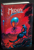 Movie Posters:Science Fiction, Medea: Harlan's World by Harlan Ellison et al. (Phantasia Press, 1985). Very Fine-. Autographed First Edition Hardcover Book...