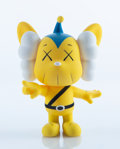 Collectible, KAWS (b. 1974). JPP (Yellow), 2008. Painted cast vinyl. 7-3/4 x 5 x 3 inches (19.7 x 12.7 x 7.6 cm) . Stamped on the und...
