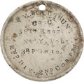 Militaria:Ephemera, ID Disk Of William Rathburn Of The 59th NY Who Died In Andersonville Prison....