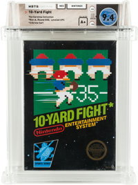 10-Yard Fight [Rev-A, Round SOQ] - Carolina Collection Wata 9.4 A+ Sealed NES Nintendo 1985 USA
