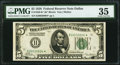 Fr. 1950-K* $5 1928 Federal Reserve Note. PMG Choice Very Fine 35