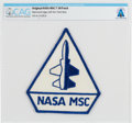 Explorers:Space Exploration, NASA MSC Original and Rare T-38 Patch Directly From The Armstrong Family Collection™, CAG Certified. ...