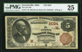 Garrettsville, OH - $5 1882 Brown Back Fr. 472 The First National Bank Ch. # (M)2034 PMG Very Fine 25.<