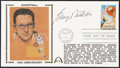 Autographs:Post Cards, 1991 George Mikan Basketball 100th Anniversary Signed First Day Cover....