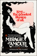 """Movie Posters:Adult, Illusion of Love (R-Late 1970s). Folded, Fine/Very Fine. One Sheet (27"""" X 41"""") Reissue Title: Mirage d'Amour. Adult.. ..."""