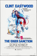 """Movie Posters:Action, The Eiger Sanction (Universal, 1975). Folded, Very Fine-. One Sheet (27"""" X 41"""") John Alvin Artwork. Action.. ..."""