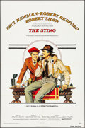 """Movie Posters:Crime, The Sting (Universal, 1973). Folded, Very Fine. One Sheet (27"""" X 41""""). Richard Amsel Artwork. Crime.. ..."""