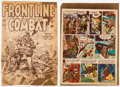 Memorabilia:Miscellaneous, Wally Wood Frontline Combat #15 Cover and Two-Fisted Tales #20 Page 4 Color Guide Silver Print (DC, 19... (Total: 2 Items)
