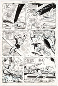 Original Comic Art:Panel Pages, Bob Brown and Murphy Anderson Superboy #171 Story Page 7 Original Art (DC, 1971)....