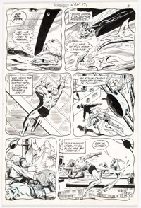 Bob Brown and Murphy Anderson Superboy #171 Story Page 7 Original Art (DC, 1971)