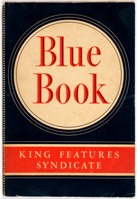 King Features Syndicate 1946 Blue Book (King Features Syndicate, 1946) Condition: VG+
