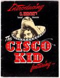 Memorabilia:Comic-Related, Cisco Kid Newspaper Strip Promotional Kit (King Features Syndicate, 1951)....