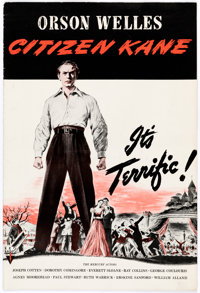 "Citizen Kane (RKO, 1941). Pressbook (16 Pages, 12"" X 18"")"