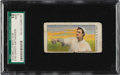 Baseball Cards:Singles (Pre-1930), 1910 E105 Mello-Mint Christy Mathewson SGC 10 Poor 1 - Only Three SGC Examples! ...