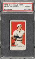 Baseball Cards:Singles (Pre-1930), 1910 E105 Mello-Mint Patsy Dougherty PSA Good 2 - One of Only Four Graded by PSA. ...