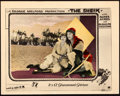 "Movie Posters:Romance, The Sheik (Paramount, 1921). Very Fine. Lobby Card (11"" X 14"").. ..."