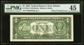 Error Notes:Offsets, Full Face to Back Offset Error Fr. 1921-F $1 1995 Federal Reserve Note. PMG Choice Extremely Fine 45.. ...