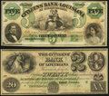 Obsoletes By State:Louisiana, New Orleans, LA- Citizens' Bank of Louisiana $20 1...
